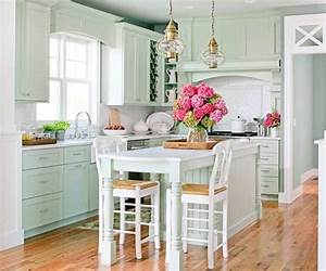 Bhg centsational style for Best brand of paint for kitchen cabinets with copper patina wall art