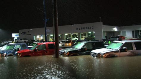 EPIC Ford Dealership FLOOD   YouTube