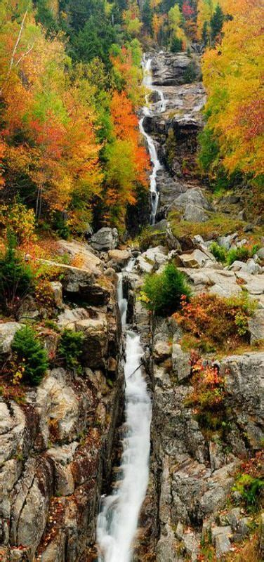 fall  england waterfall fall newengland vertical