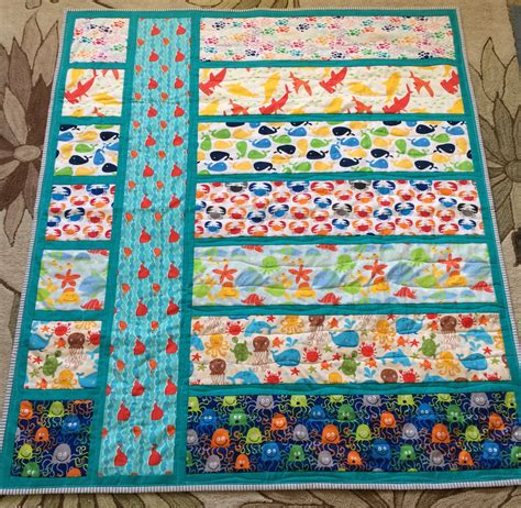 themed quilt patterns cation designs the geekiest baby underwater themed quilts