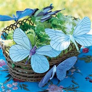 Papillon Papier De Soie : des papillons en papier de soie marie claire ~ Zukunftsfamilie.com Idées de Décoration