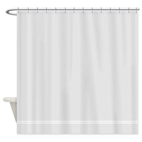 silver gray shower curtain by inspirationzstore