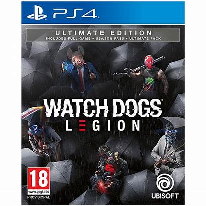 Legion Ps4 Dogs Ultimate Edition