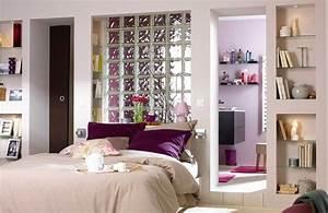 chambre avec salle de bain ouverte et dressing modern aatl With chambre avec dressing et salle de bain