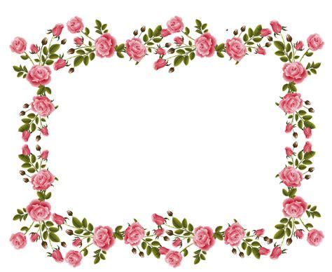 Pink Rose Wallpaper Border 18 Background