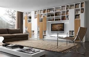 wohnzimmer regalwand regalsysteme helfen ihnen ihre gegenstände zu organisieren