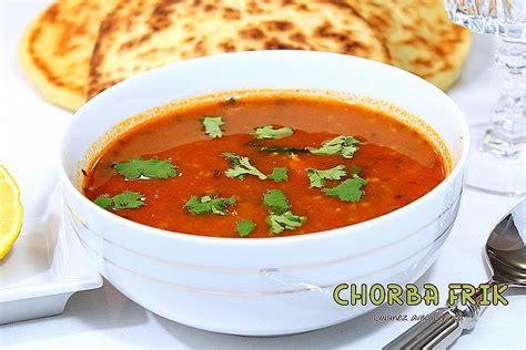 cuisine algeroise traditionnelle chorba frik soupe algérienne au blé recettes faciles