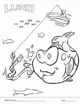 Fishing Coloring Contest Deviantart sketch template