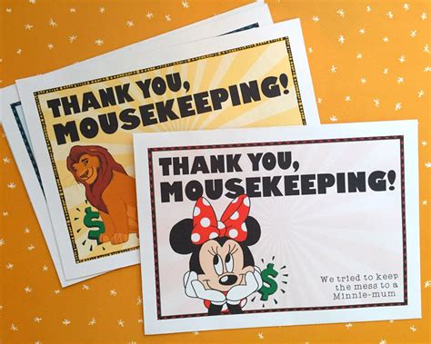 diy mousekeeping envelopes   notes diy mousekeeping