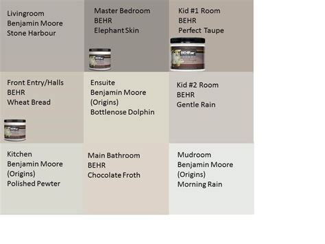 our home s paint colours neutral much benjamin