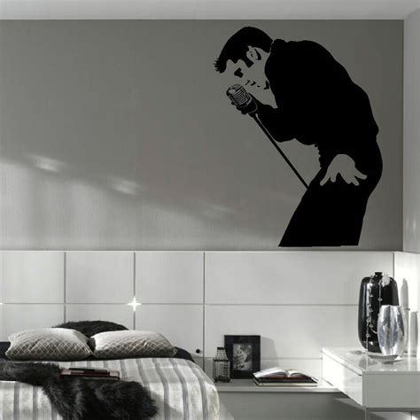 32932 wall decals for bedroom aliexpress buy elvis large bedroom wall