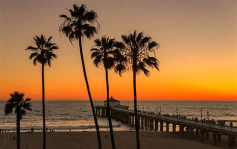 Manhattan County Beach, Manhattan Beach, CA - California ...