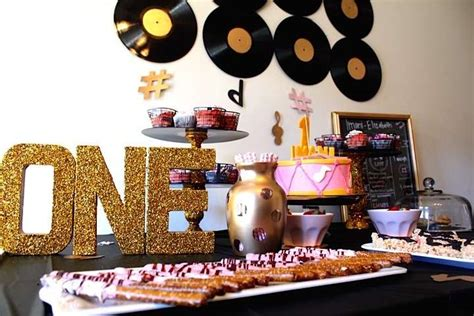 Music Themed Birthday Party Ideas  Photo 1 Of 12 Catch