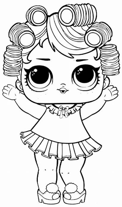 Lol Coloring Surprise Pages Doll Dolls Printable