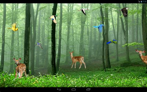 Forest Animals Live Wallpaper - forest lwp android apps on play