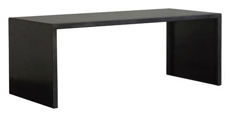 Black Desk by Big Irony Desk Table L 160 Cm Black Phosphated Steel