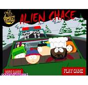 South Park Alien Chase Game  Car YouTube