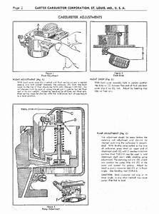 Carter Carburetor Diagrams By Mario