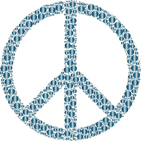 Image Without Background Clipart Colorful Circles Peace Sign 20 Without Background