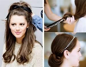 Tuto Coiffure Cheveux Court : tuto coiffure headband cheveux courts hair style t ~ Melissatoandfro.com Idées de Décoration