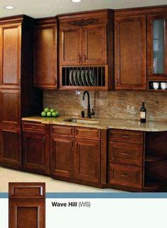 pecan maple glaze kitchen cabinets rustic finish sample door rta  wood   home