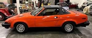 1980 Triumph Tr7 20116 Miles Orange Convertible I4 2 0l