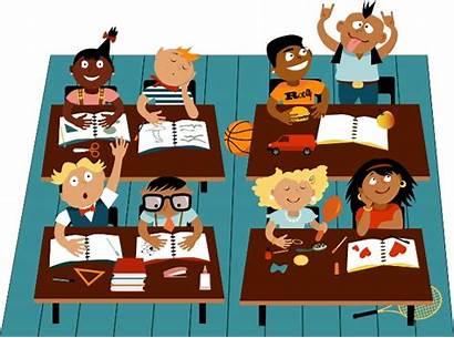 Classroom Comic Graphic Elementary Scuola Elementare Students