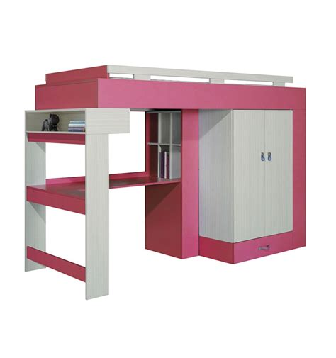 Desk Bunk Bed Combination by Libellule Designer Bunk Bed Desk Combination