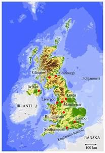 Iso Britannian Kartta