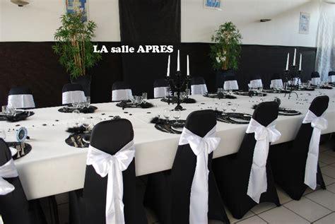 deco de salle mariage noir et blanc decoration de salle de mariage noir et blanc mariage