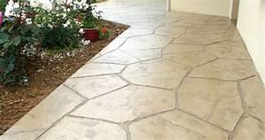 Beton Decoratif Exterieur : b ton imprim beton decoratif exterieur exterieur ~ Melissatoandfro.com Idées de Décoration