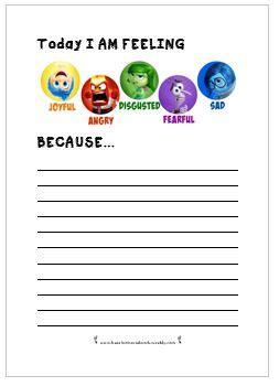 worksheets emotions activities