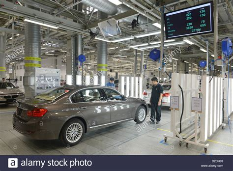 Final Inspection Of A Bmw 320 Li At The Production Plant