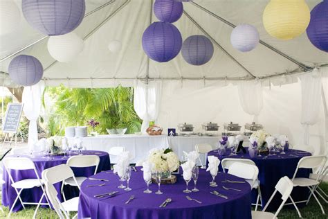purple and yellow diy florida wedding every last detail