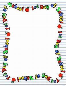 School Supplies Borders Clip Art (51+)