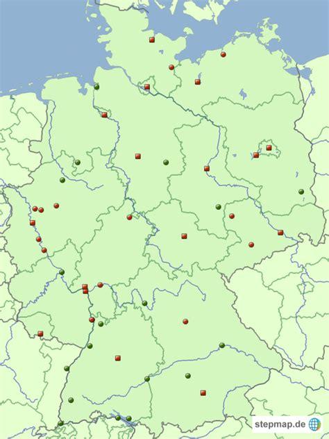 deutschland karte topographie  blog