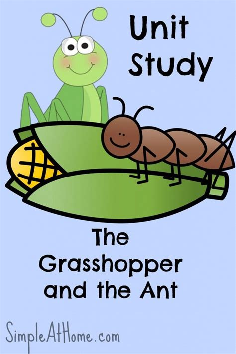 the grasshopper and the ant unit study inspired 407   639bddda504b215aa975616a1ed71366