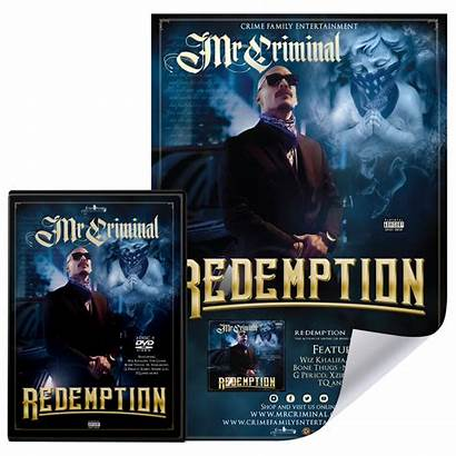 Mr Criminal Dvd Redemption Disc Package Album