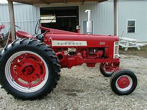 1955 Farmall 300 Tractor With Wide Front And Fast Hitch