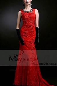 robe de soiree pas cher l735 rouge feu With robe de soirée rouge pas cher