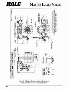 Hale Master Intake Valve User Manual