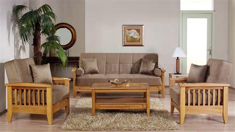 beige microfiber living room wwooden frame storage