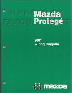 2001 Mazda Protege Wiring Diagram Manual Original