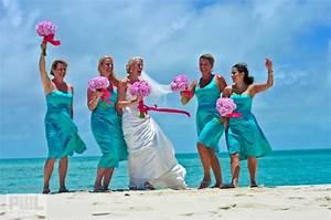 Pink and Turquoise Wedding Theme Ideas - WeddingDash.com