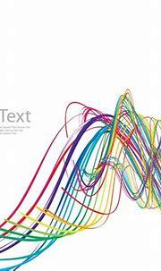 Abstract Rainbow Wave Vector Art   Free Vector Graphics ...