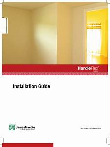 Hardiflex Walls Installation Manual