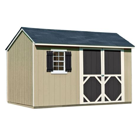 Heartland Storage Shed Plans by Heartland Stratford 12 Ft X 8 Ft Wood Storage Shed Lowe
