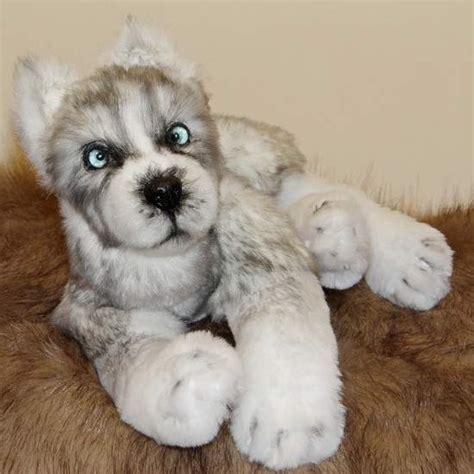 Fluffy Happy Puppy Husky By Ermoha - Bear Pile