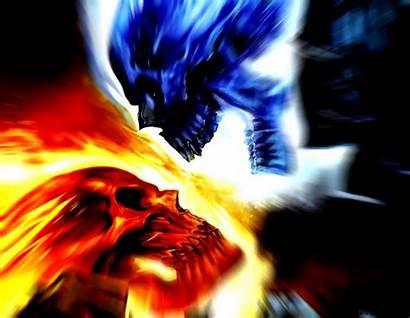 Cool Skull Fire Skulls Wallpapers
