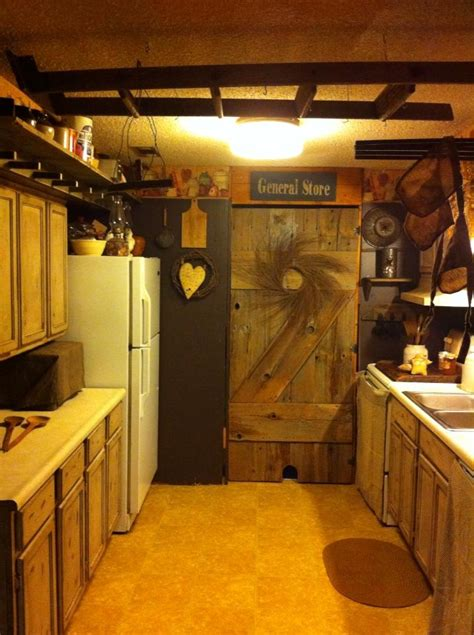 my small primitive kitchen for the home pinterest